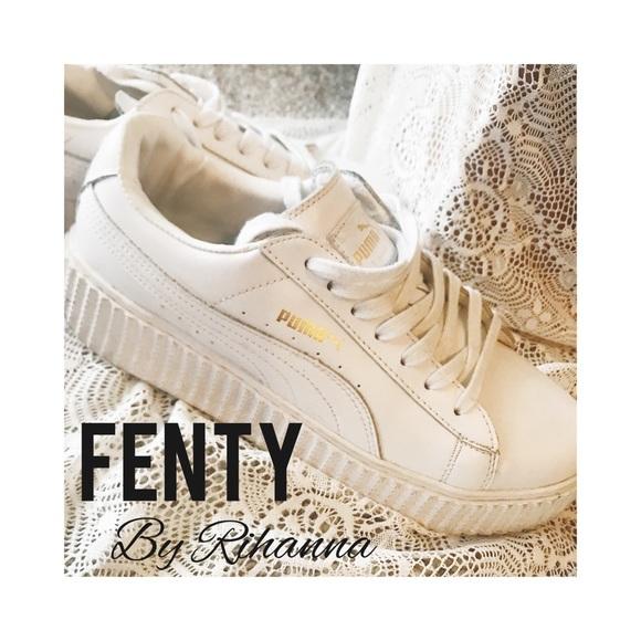 Puma Fenty by Rihanna White Gold Classic